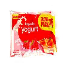 Yogurt bolsa x6 - Loncheras y refrigerios